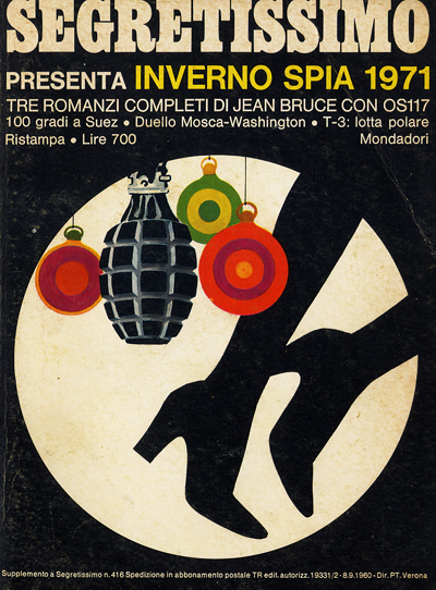 J. Bruce-Segretissimo, estate spia 1971