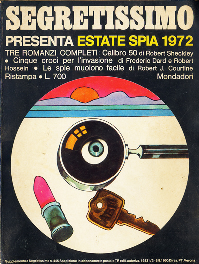 Segretissimo, estate spia 1972