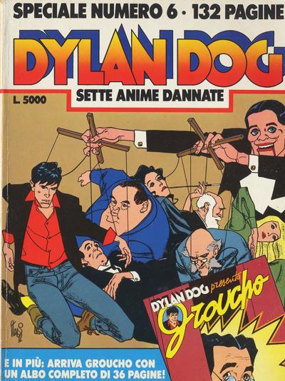 Dylan Dog Sette anime dannate