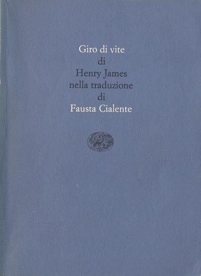 Henry James-Giro di vite
