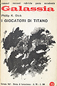 Philip K. Dick - I giocatori di Titano