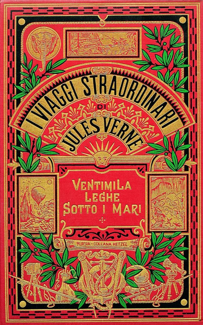 Jules Verne-Ventimila leghe sotto i mari