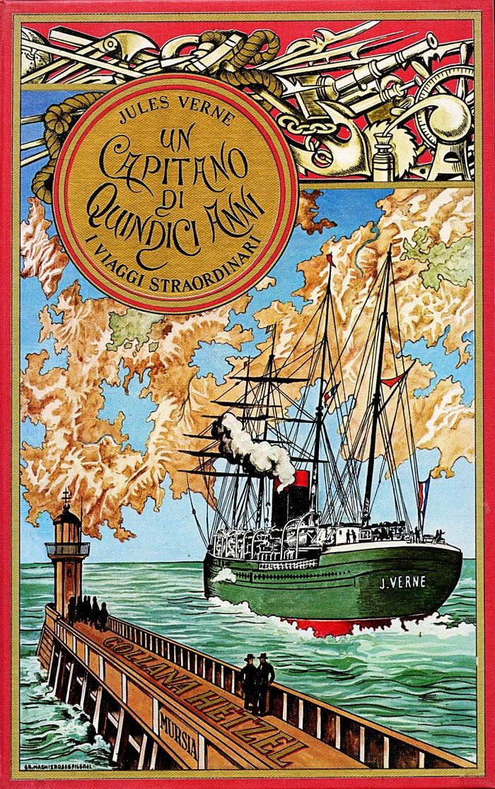 Jules Verne-Un capitano di 15 anni