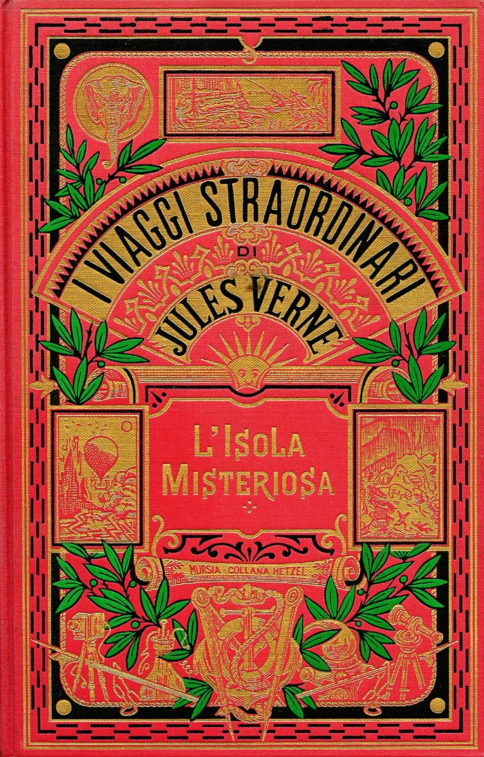 Jules Verne-L'isola misteriosa