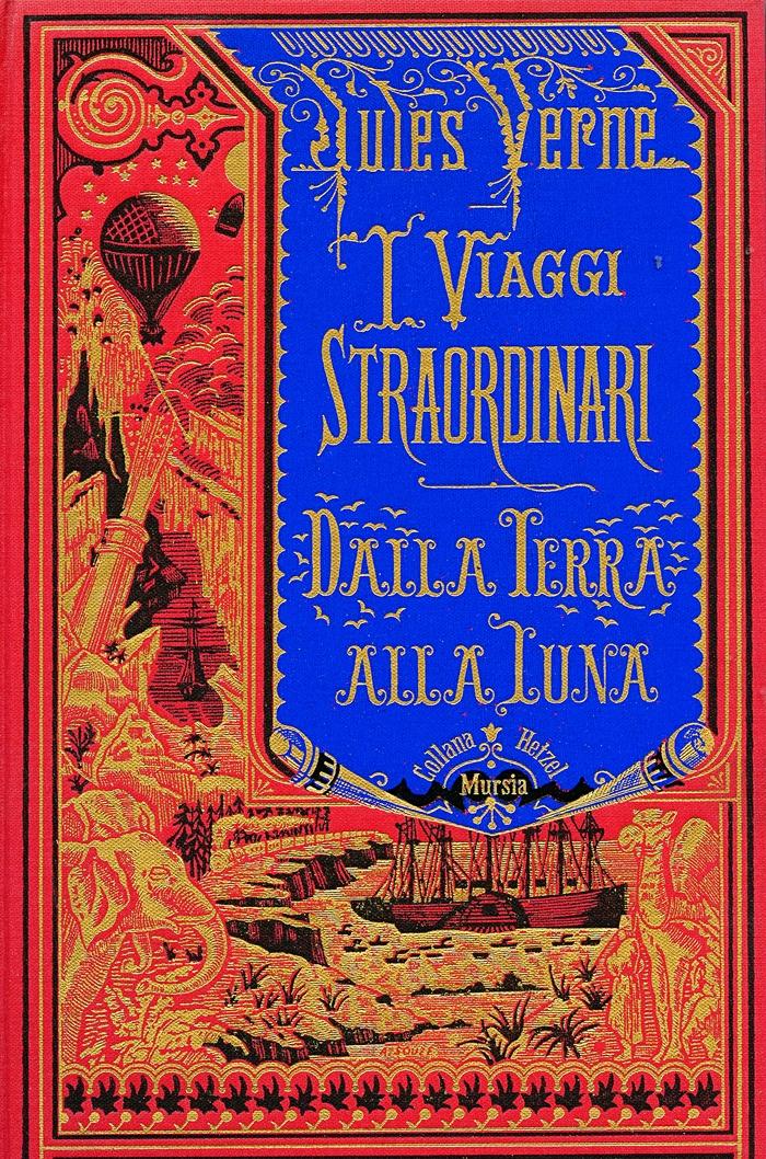 Jules Verne-Dalla terra alla luna