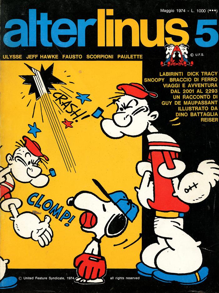 alterlinus n.5 1974