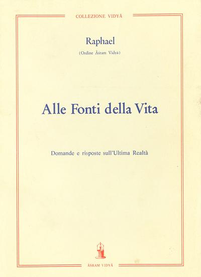 Raphael-Alle fonti della vita