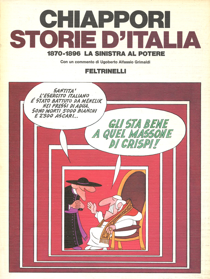 Chiappori - storie d'Italia 1860/1896 la sinistra al potere