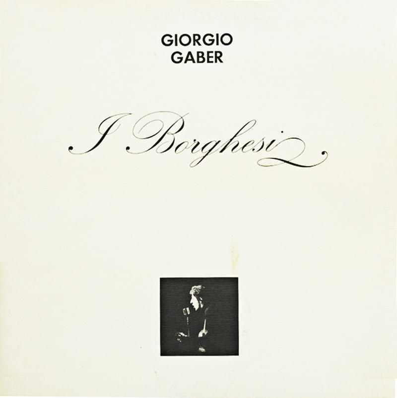 Gaber - I borghesi