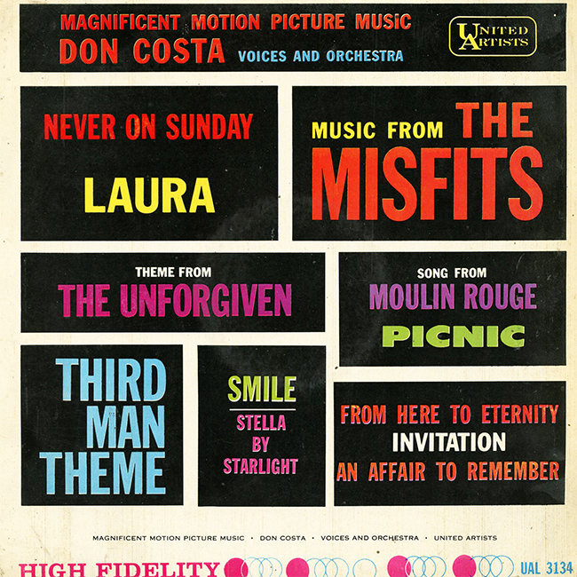 Don Costa - Magnificent Motion Picture Music