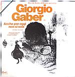 Gaber - Anche per oggi non si vola